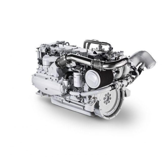 Fpt Iveco Nef N67 570 Diesel Marine Engine